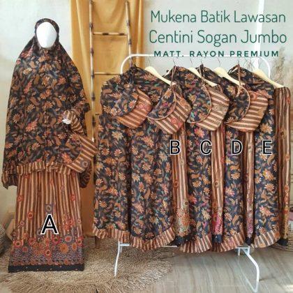 Mukena Batik Pekalongan, Mukena Batik Jumbo. Wa : 08156668773